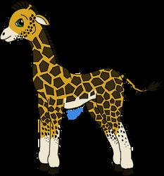 Giraffe by Ryachanira