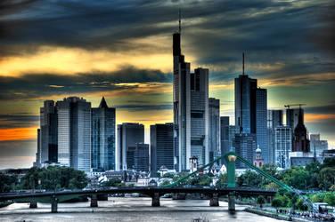 Frankfurt Skyline by TnP-Dennis