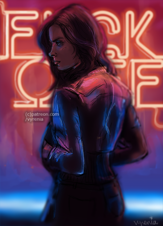 Marvel//Jessica Jones//Neon Night by vyrenia