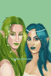 Riverdale // Beronica // Fairies by vyrenia
