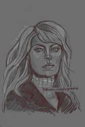 Riverdale // Alice Cooper // Sketch by vyrenia