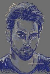 FP Jones // Riverdale //Sketch