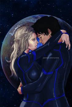 The 100 // Bellarke// Space Romance