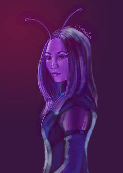 Avengers // Mantis // In Shades of Purple