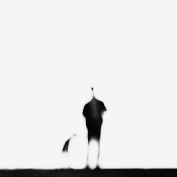 The dog with man by esmahanozkan