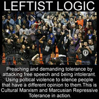 Leftist logic by Marsconquers