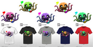 Wuggy the Adorable Tentacle Monster T-Shirt