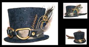Steampunk Mini Hat by drowningstar