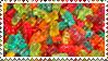 Gummy bears stamp