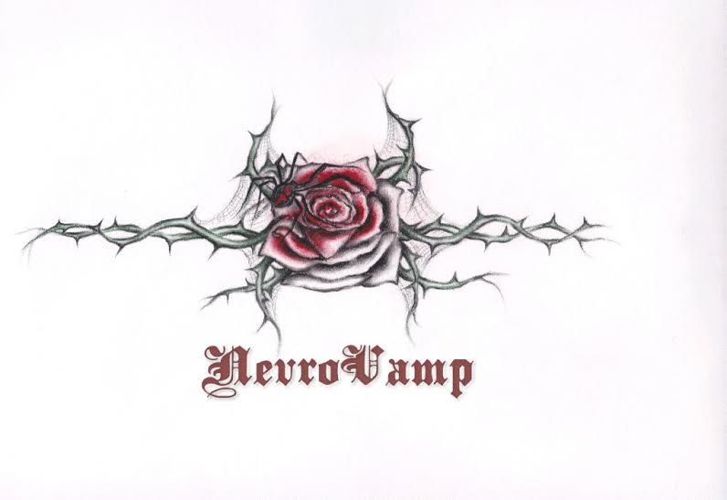 Black widow on the rose by NevroVamp