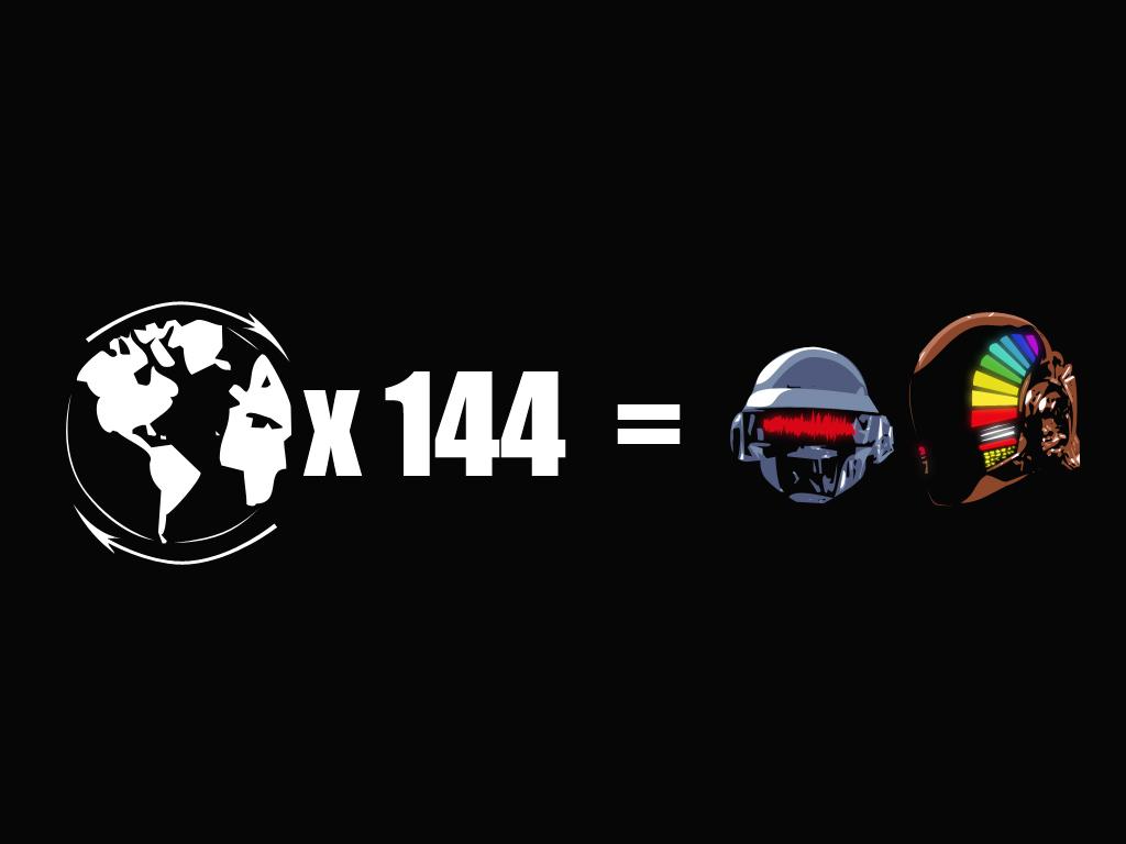 Daft Punk - Around the World by p2pnadie2pp