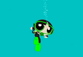 ppg buttercup Scuba. by cindyquitap1