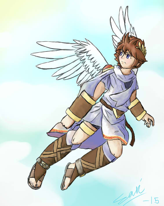 Pit Kid Icarus By Sarichan290300 On DeviantArt