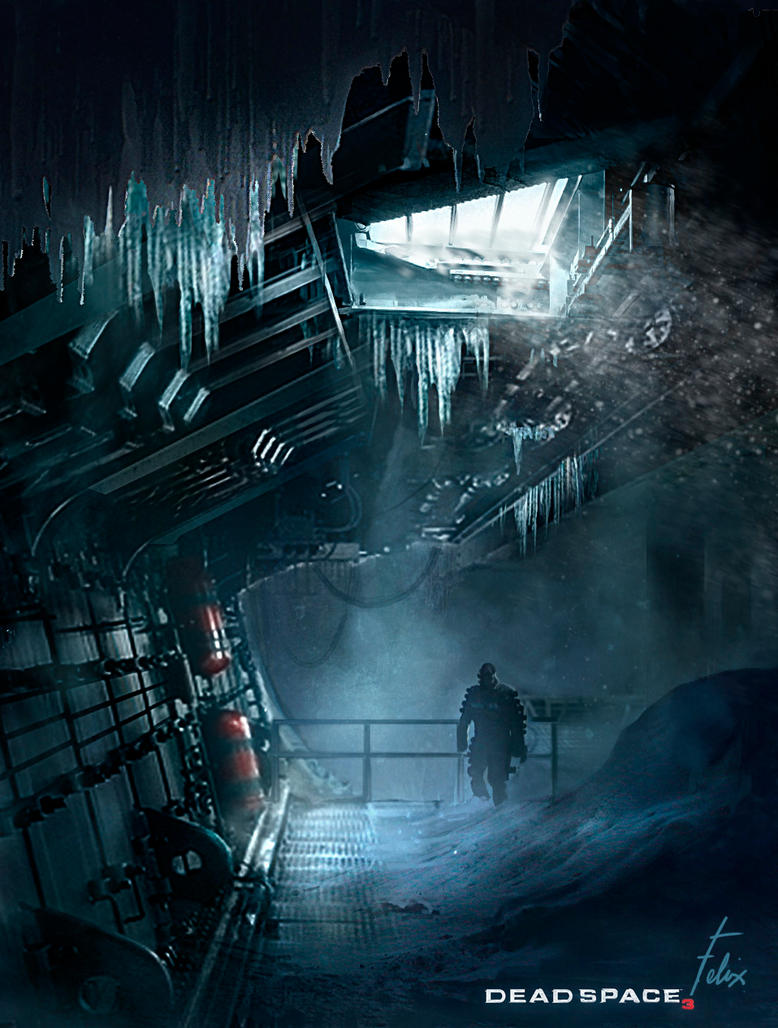 Dead Space3-Environment Concept Design by jason-felix