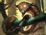 Copper Snake Coil -Magic The Gathering