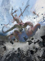 MTG-Battle For Zendikar- Eldrazi Birth by jason-felix