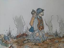 WW1 'La fin...' by Gozac1198