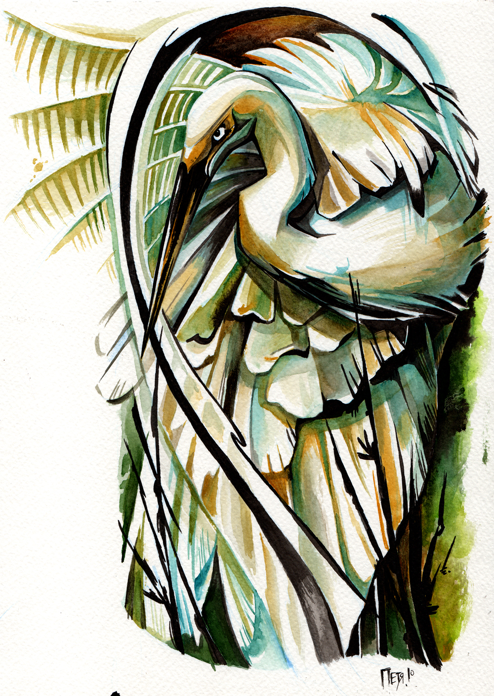 crane by EvlogievaPetja