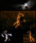 Werewolf by FoldedWilderness