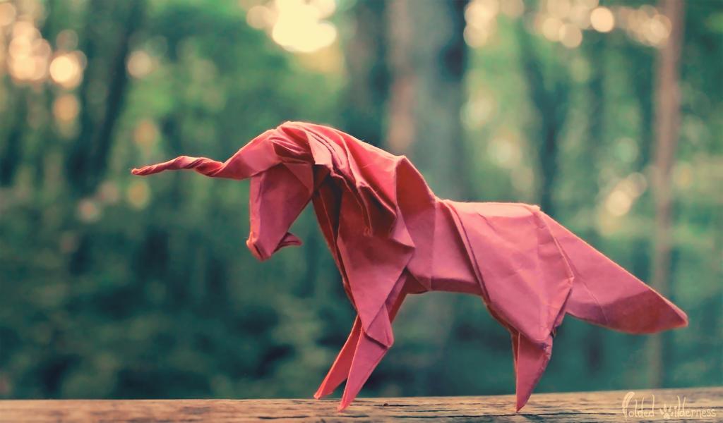 Candy Pink Unicorn by FoldedWilderness