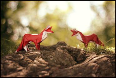 Playing the Fox by FoldedWilderness