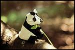 Snack time Panda