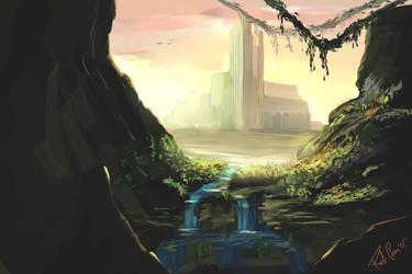 Castle Cave by p1zzaman