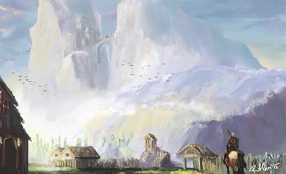 Witcher Fan Art: Skellige by p1zzaman
