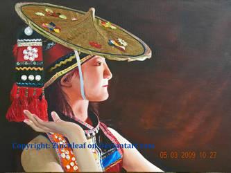 Dai Self-Portrait by Zinchleaf
