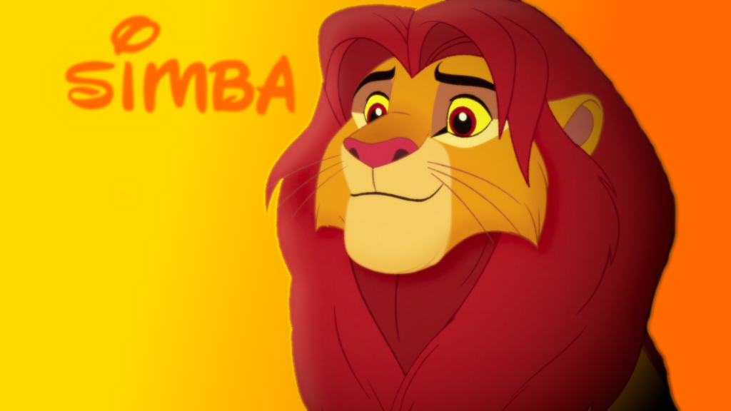 simba wallpaper by gyr0thescout on deviantart