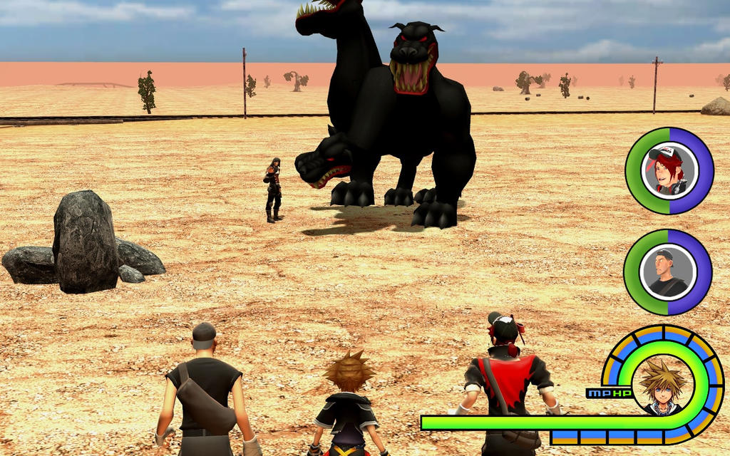 Kingdom Hearts: Boss Fight in The Cimarron by Gyr0TheScout