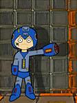 Megaman Mega Buster by chelano