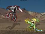 Dark Link Verse Link by chelano