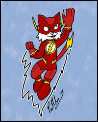 Flash Cat by chelano