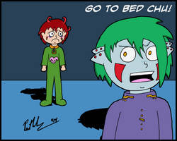 Go To Bed Chu by chelano