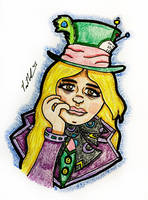 Chloe Grace Moretz As The Mad Hatter by chelano