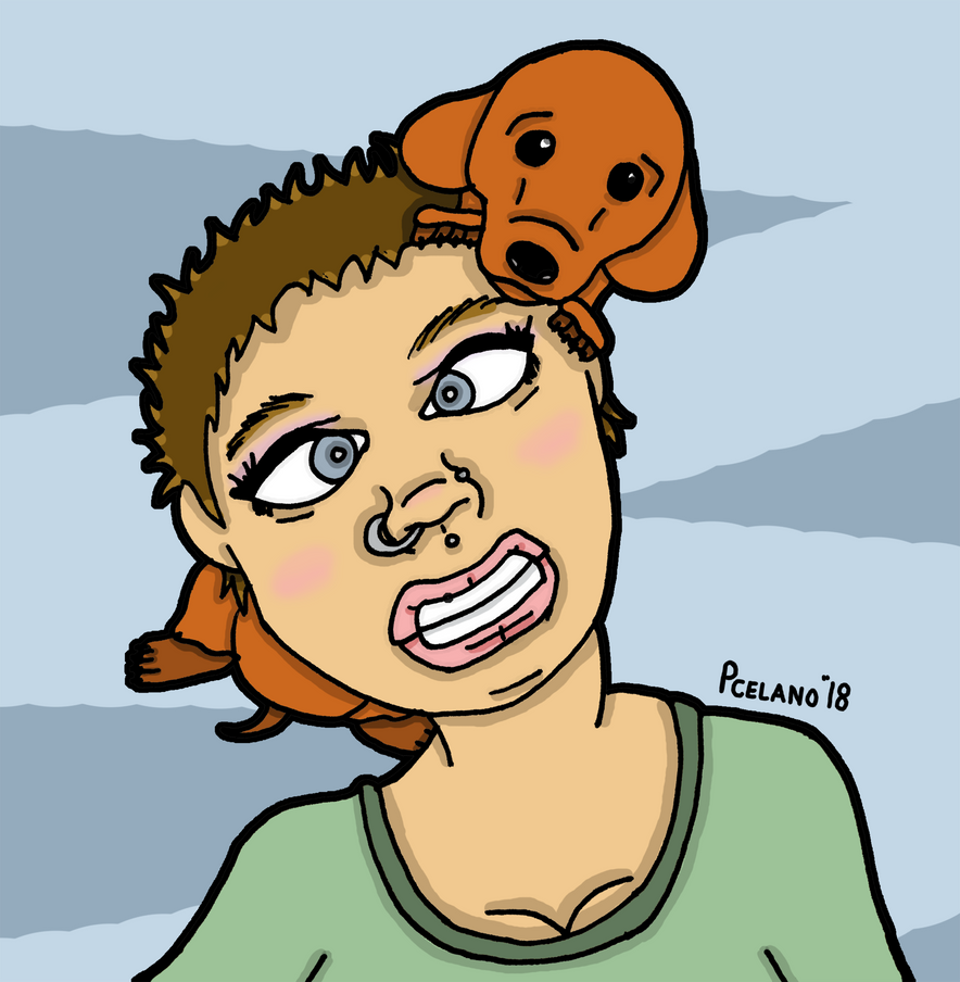 Gianna And Her Hot Dog by chelano