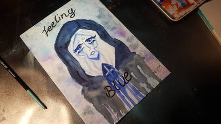 #020 Feeling Blue by RainyVanDragon