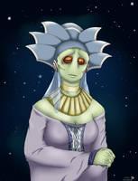 Neimoidian female - for strwrsgrl by Kweh-chan
