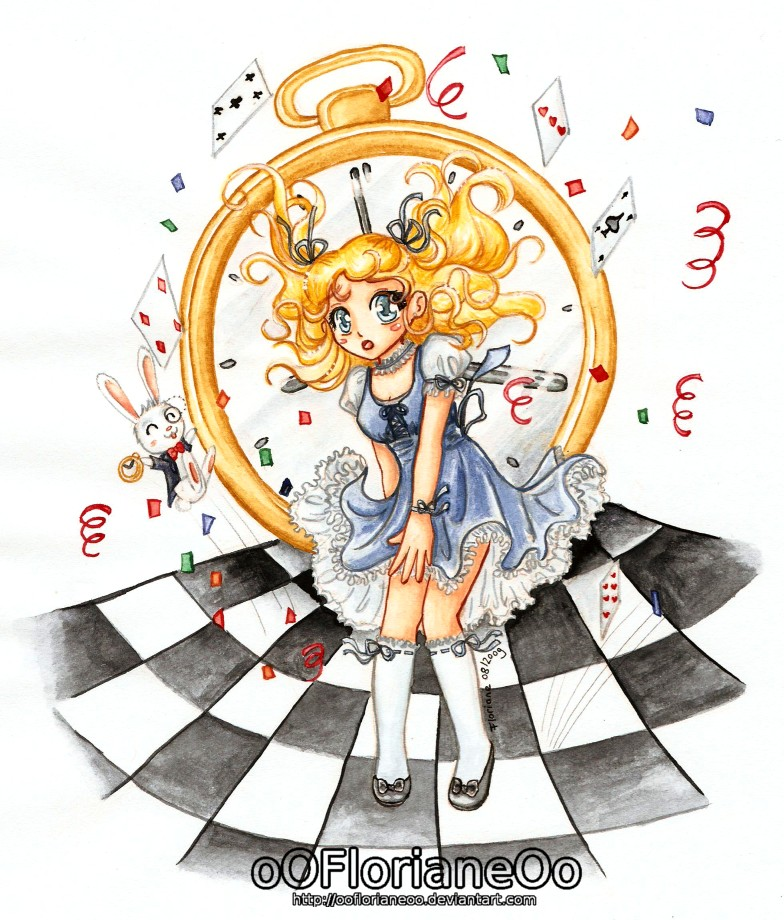 Alice in Wonderland by oOFlorianeOo