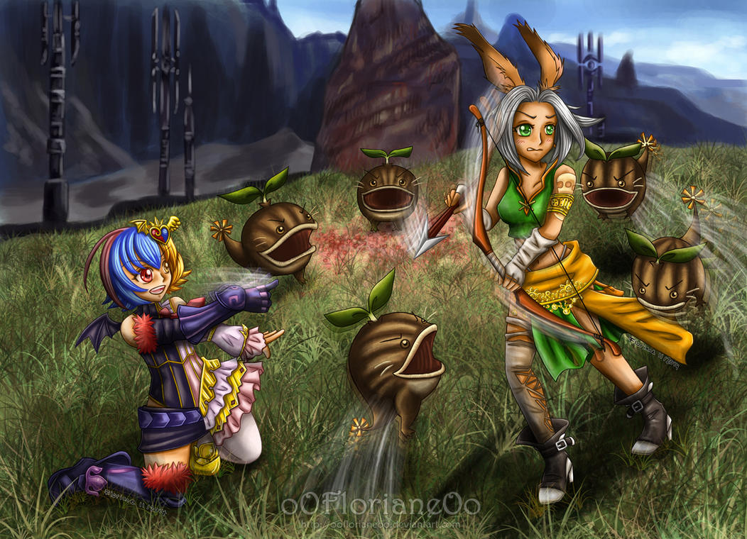 Dissidia Aces - Cycle 4  -Round 1 - Mira VS Shara by oOFlorianeOo