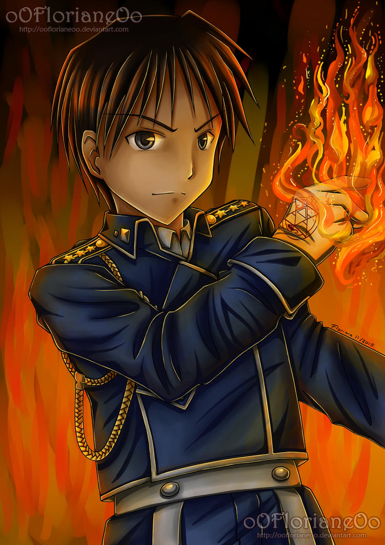 FMA - I'm the Flame Alchemist !!! by oOFlorianeOo