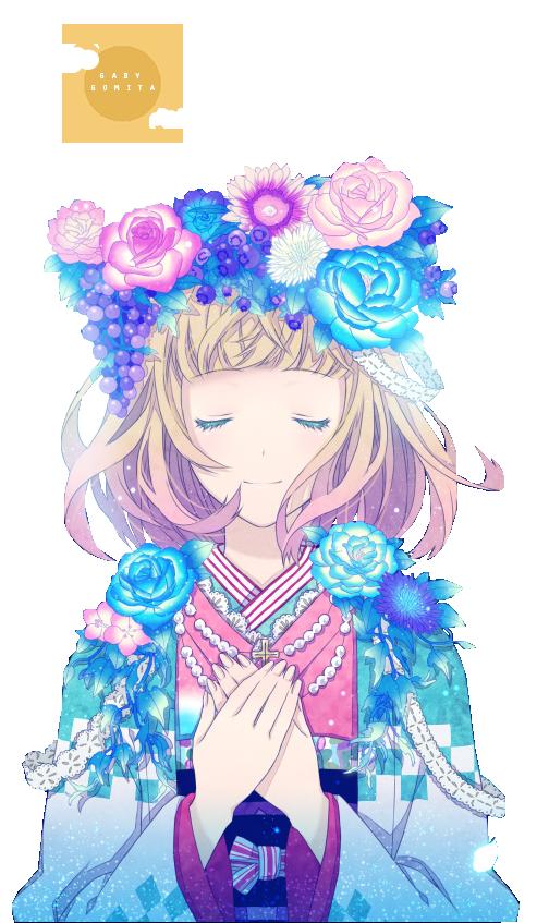 39 Renders Mangas fleuris  Ao_no_exorcist_shiemi_by_gabygomita-d6pqzkf
