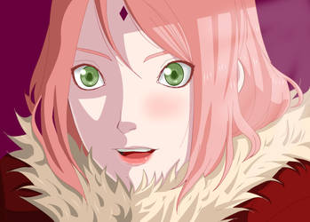 Sakura Haruno by gabygomita
