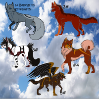 Realistic Style Canine Surprise Adopts: Closed by Shazbuckets