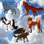 Realistic Style Canine Surprise Adopts: Closed