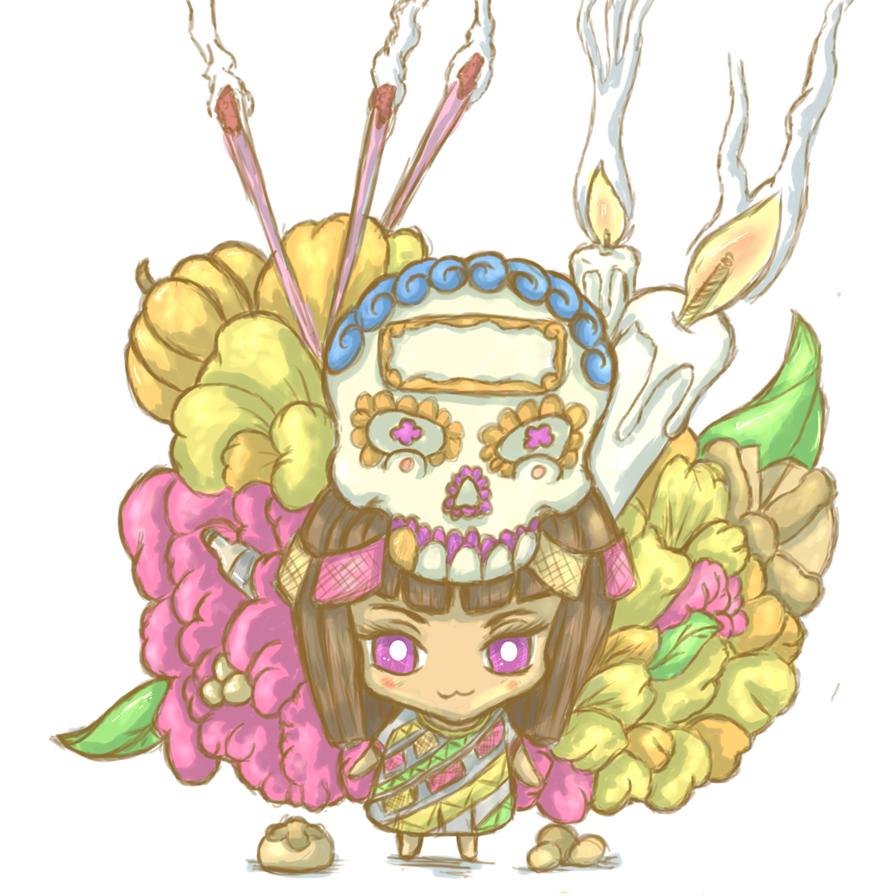 Ofrenda chan by Jinshi0k