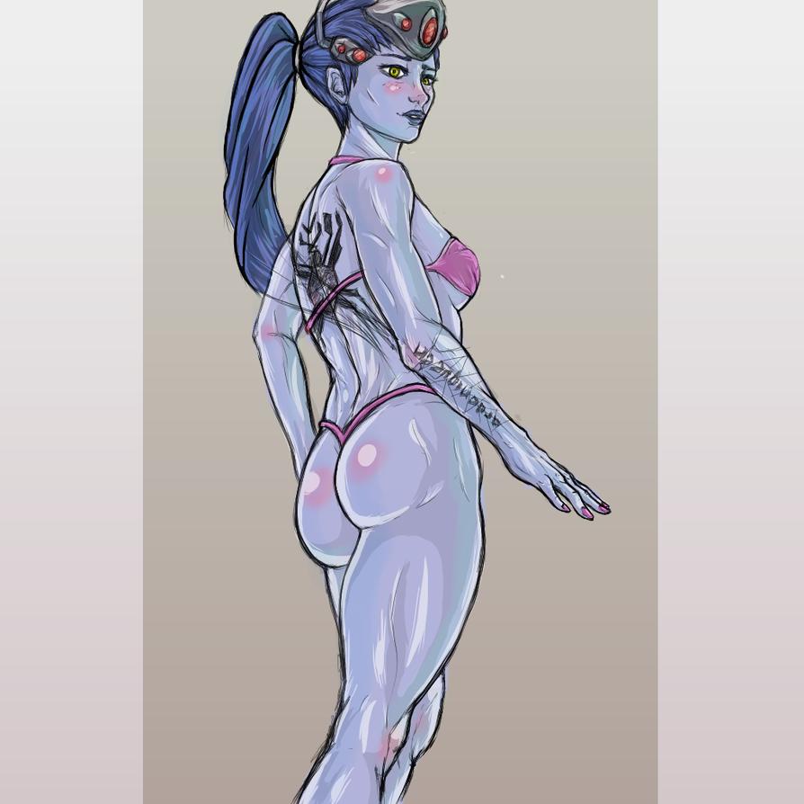 Widowmaker Bikini by Jinshi0k