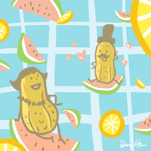 Love at Fruit Sight by LittleTribe