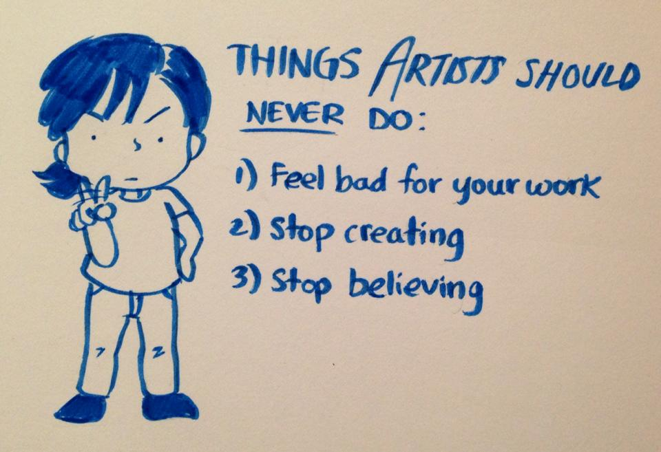 Things Artists Should Never Do by LittleTribe